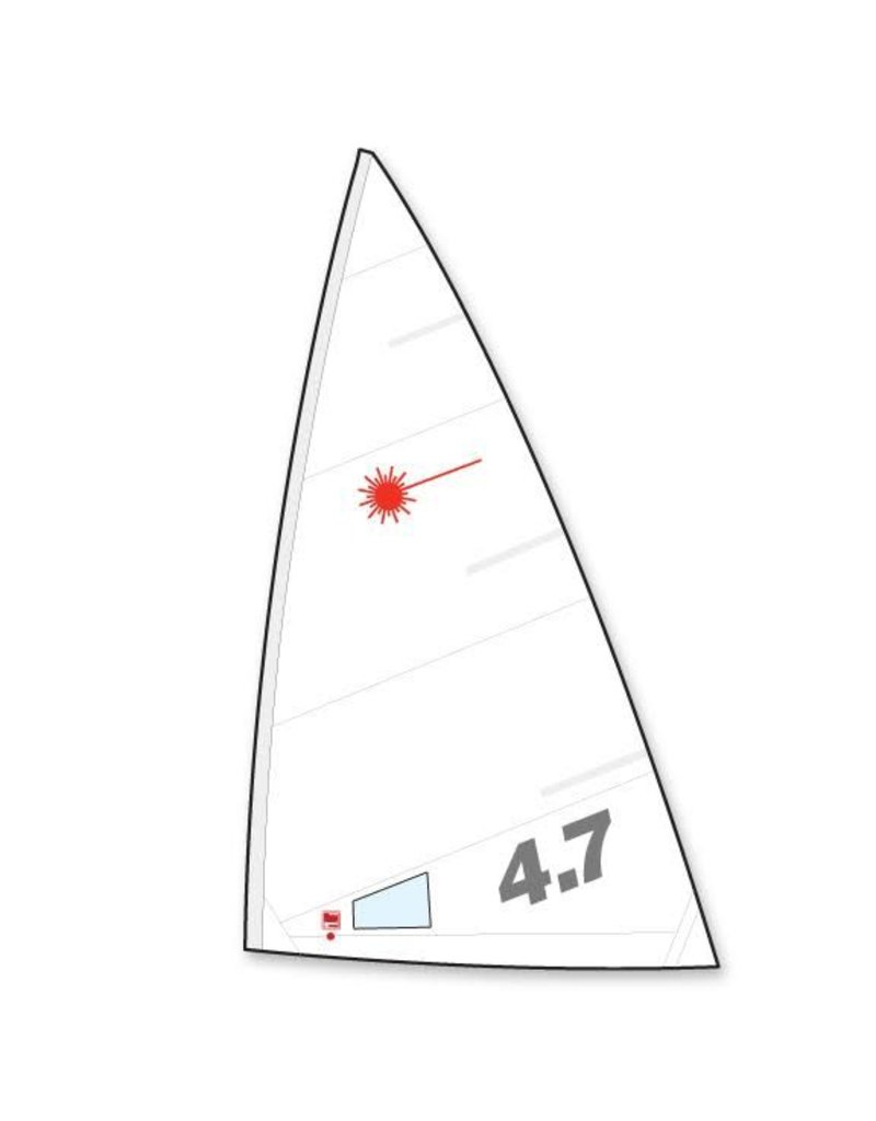 Laser Performance SAIL, ILCA 4.7, FOLDED, NORTH