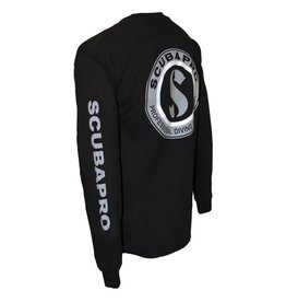 ScubaPro SCUBAPRO Long Sleeve T-shirt, Black