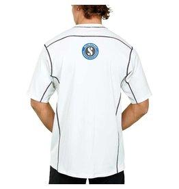 ScubaPro Ice Rash Guard Mens, C-Flow, Short Sleeve (UPF50)- White