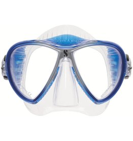 ScubaPro Synergy 2 Twin - Blue/Silver - Clear Skirt