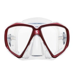 ScubaPro Spectra - Red - Clear Skirt