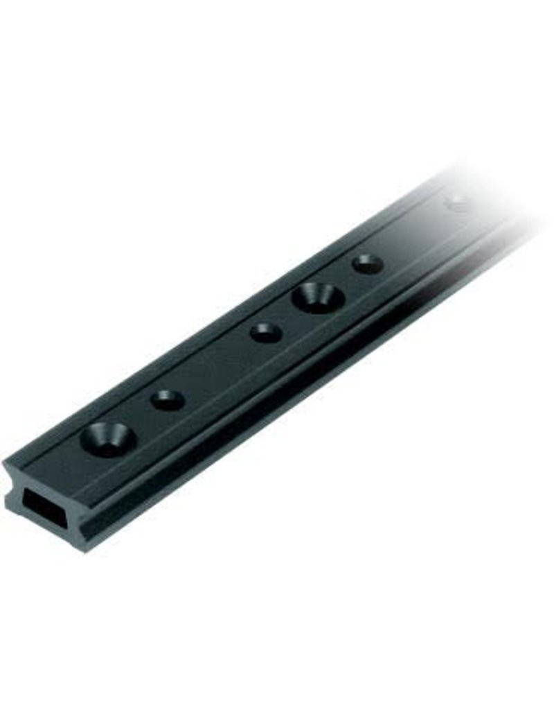 Ronstan Series 26 Track, Black, 5996 mm M6 CSK fastener holes. Pitch=100mm Stop hole pitch=50mm
