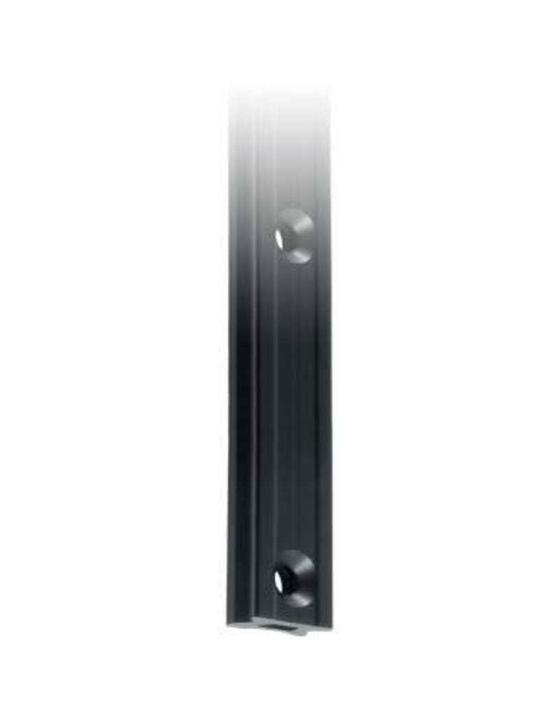 Ronstan Series 30 Mast Track, Black, 6025mm M8 CSK fastener holes. Pitch=100mm Fastening slugs=61
