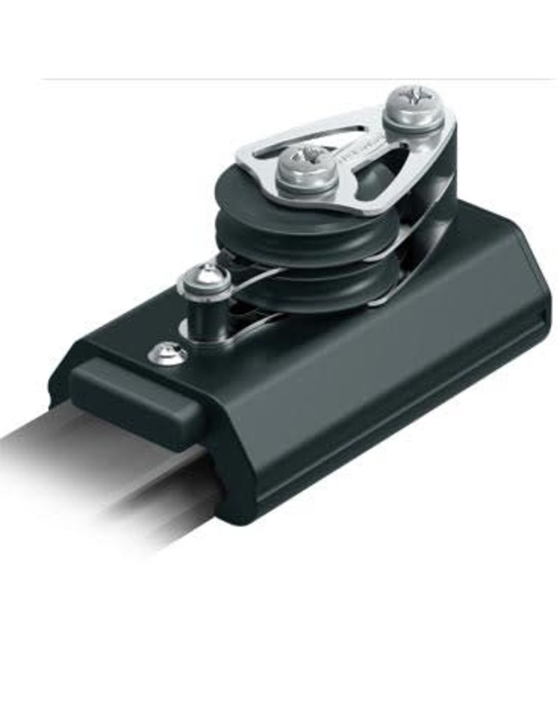 Ronstan S42 Control End, Double, 50mm Sheave, Becket