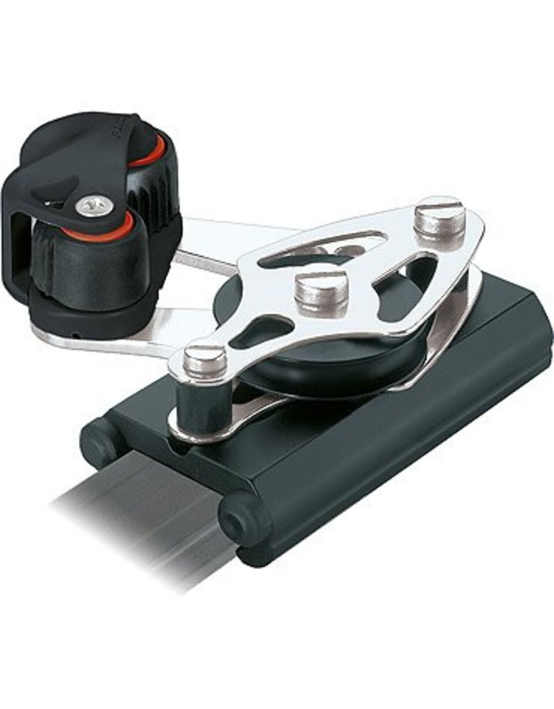 Ronstan Series 30 Control End, Single Sheave & Becket, Cleat