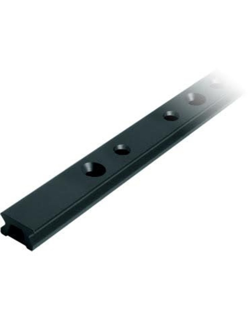 Ronstan Series 22 Track, Black, 5996 mm M6 CSK fastener holes. Pitch=100mm Stop hole pitch=50mm