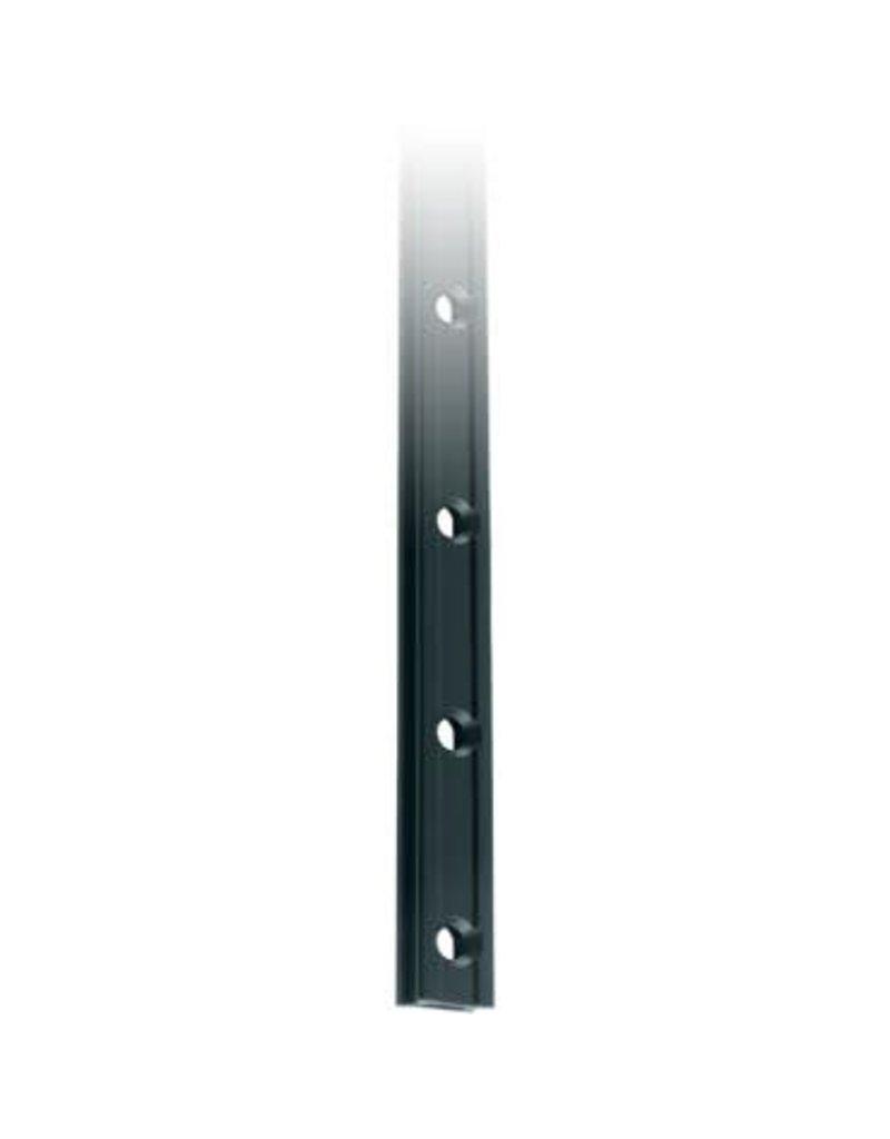 Ronstan Series 19 Mast Track, Black, 6025mm M5 CSK fastener holes.Pitch=100mm Fastening slugs=61