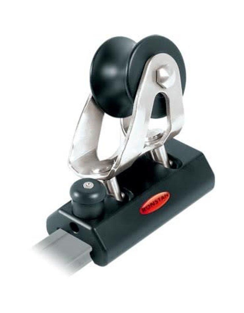 Ronstan Series 19 Sliderod Genoa Car, 82mm, Plunger Stop,