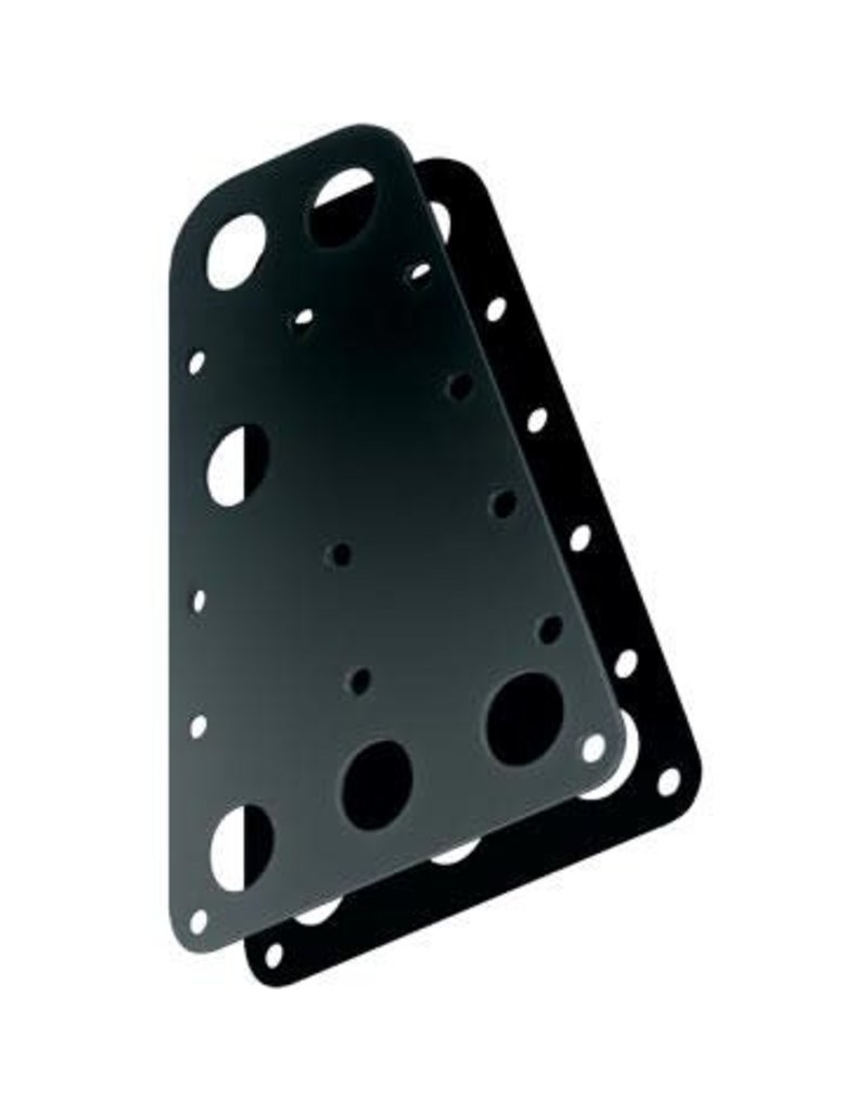Ronstan Headboard Plates, 280mm x 175mm (Pair)