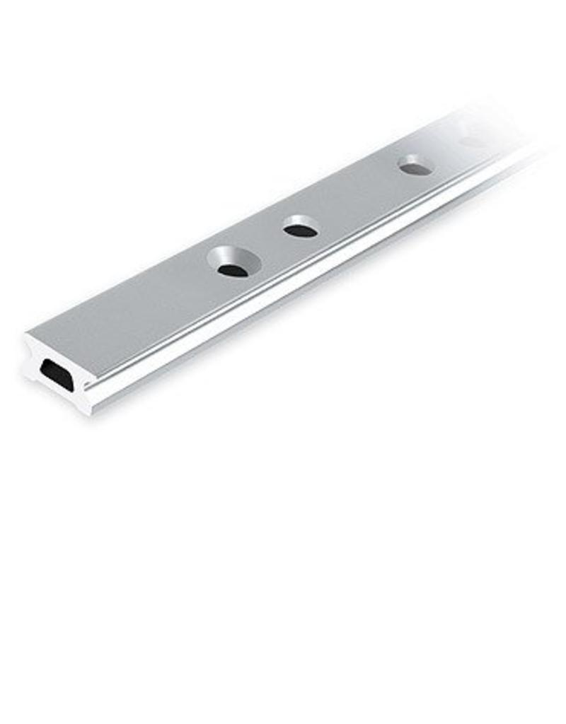 Ronstan Series 22 Track. Silver. 2996 mm M6 CSK fastener holes. Pitch=100mm Stop hole pitch=50mm