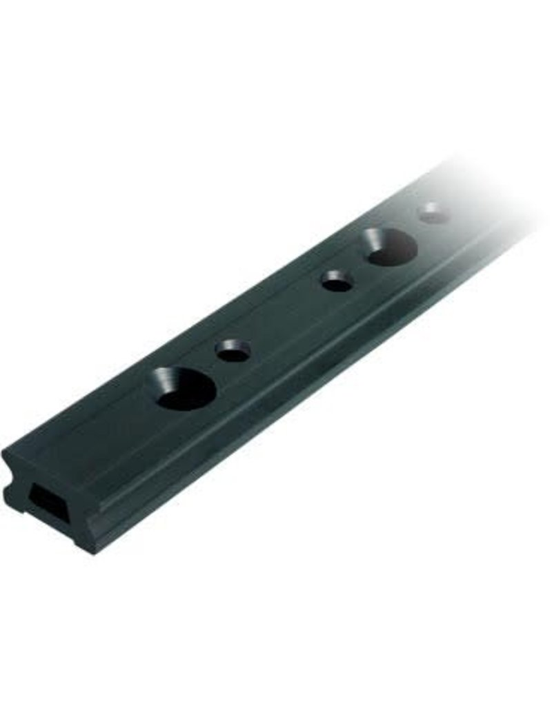 Ronstan Series 30 Track, Black, 1996 mm M8 CSK fastener holes. Pitch=100mm Stop hole pitch=50mm