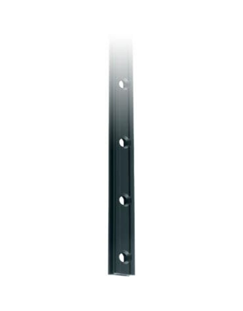 Ronstan Series 19 Mast Track. Black. 3025mm M5 CSK fastener holes.Pitch=100mm Fastening slugs=31