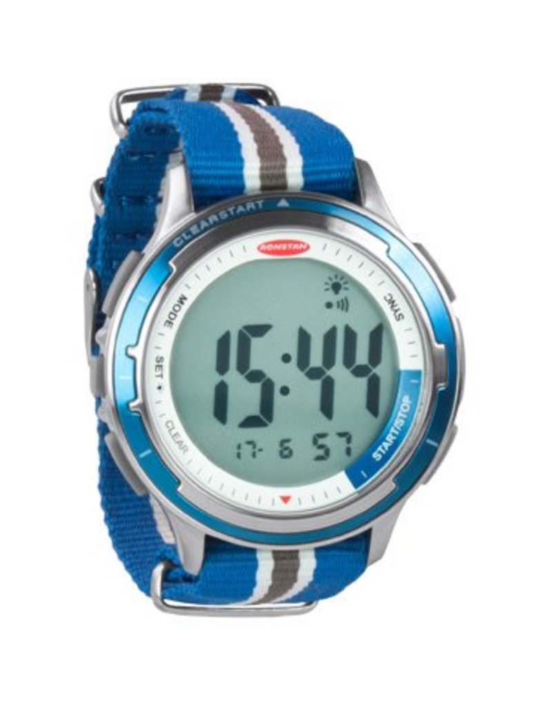 Ronstan Ronstan Clear Start™ Sailing Watch, S/S, Canvas Band