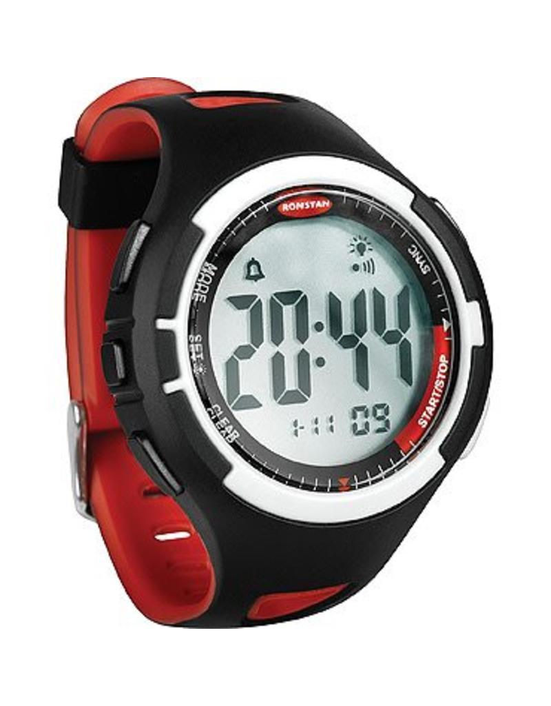 Ronstan Ronstan Clear Start™ Sailing Watch, Black Red