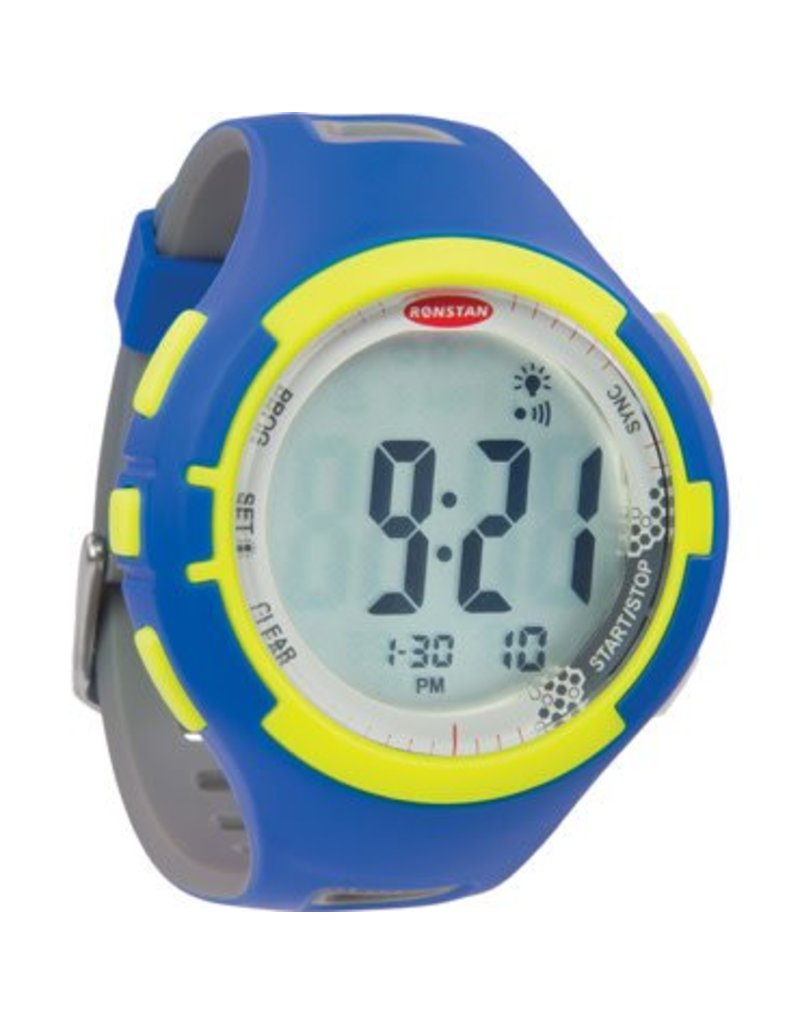 Ronstan Ronstan Clear Start™ Sailing Watch, 50mm,Blue Lime
