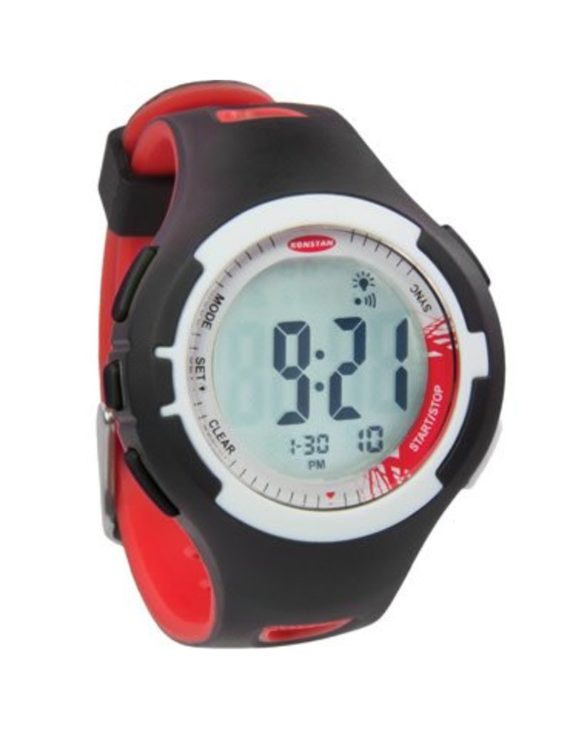 Ronstan Ronstan Clear Start™ Sailing Watch, 40mm,, Black Red