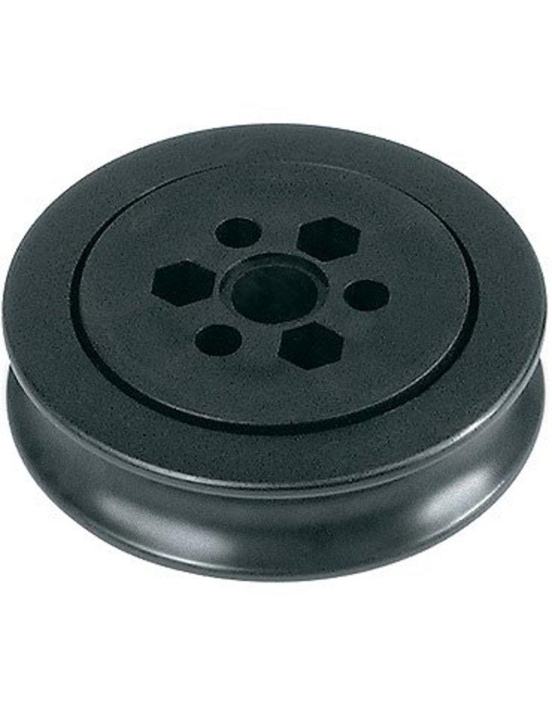 Ronstan Series 75 BB Sheave, Acetal, OD75mmxW20.5mmx3xID6.3mm