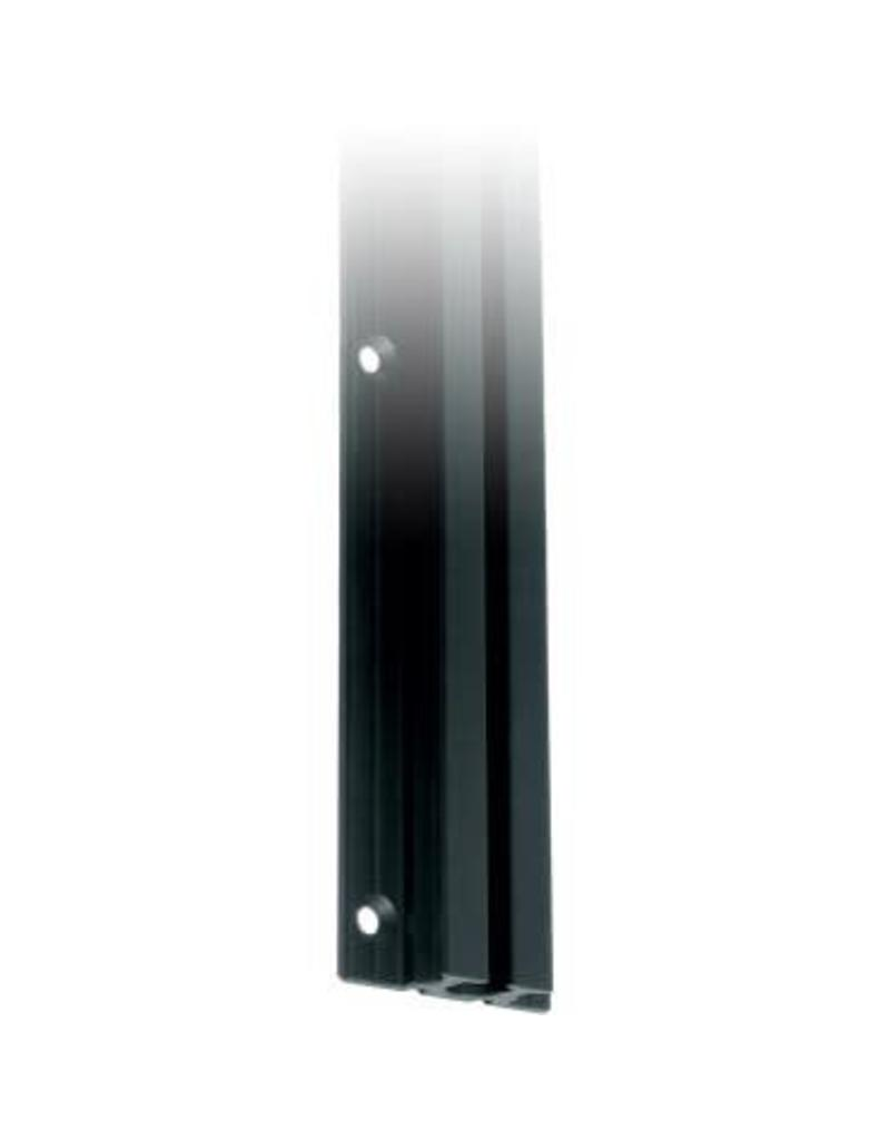 Ronstan Series 26 Mast Track Gate, Black, 325mm M6 CSK fastener holes. Pitch=75mm Fastening slugs=5