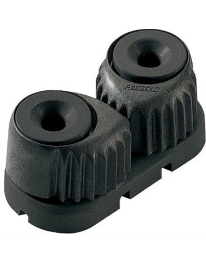 Ronstan Large 'C-Cleat' Cam Cleat Black, Black Base