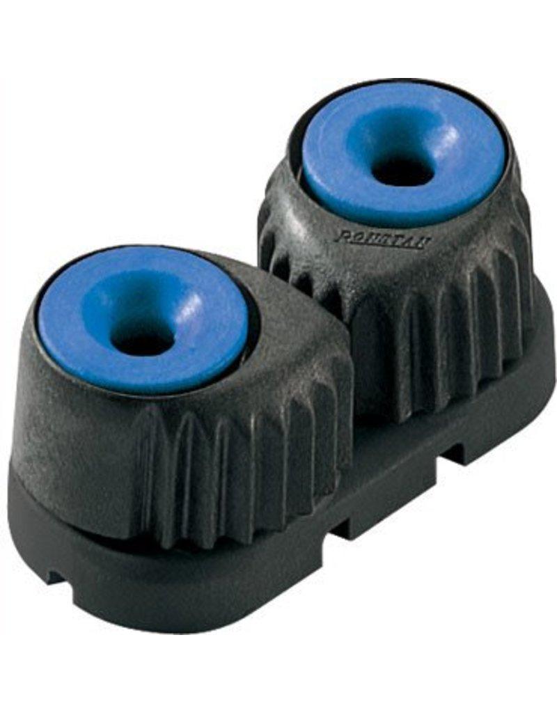 Ronstan Large 'C-Cleat' Cam Cleat Blue, Black Base