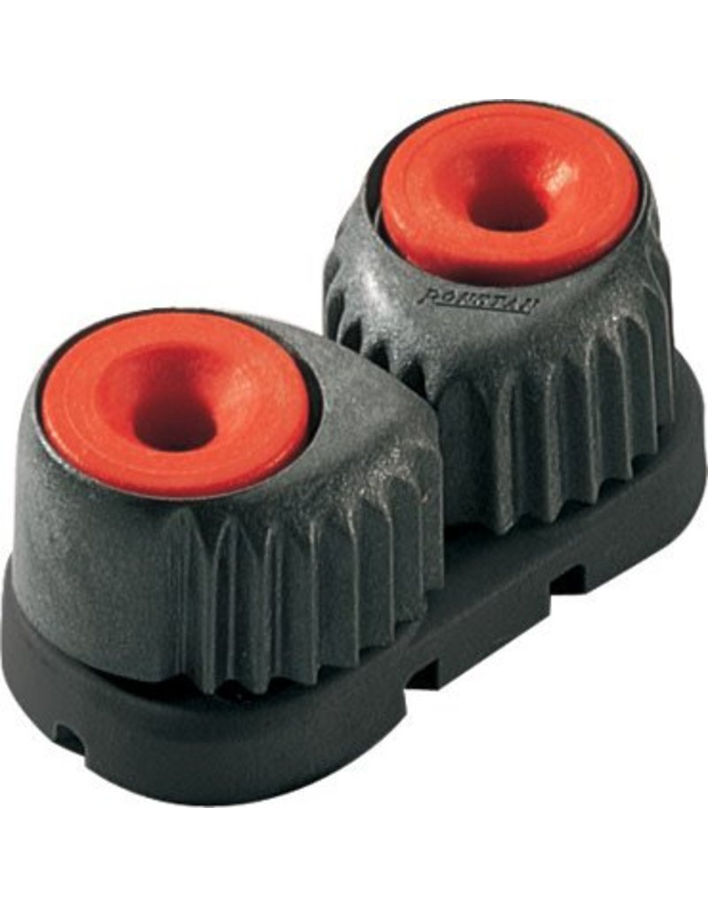 Ronstan Large 'C-Cleat' Cam Cleat Red, Black Base