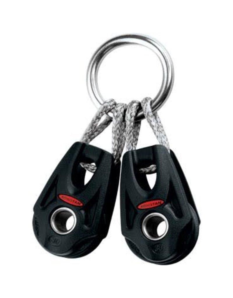 Ronstan Series 30 BB Orbit Block, Clew Ring Linked