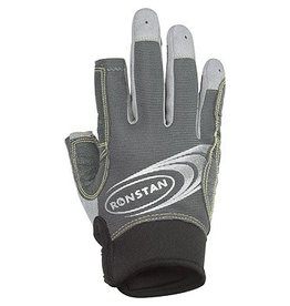 Ronstan Sticky Race Glove 3 Finger, Grey, XL