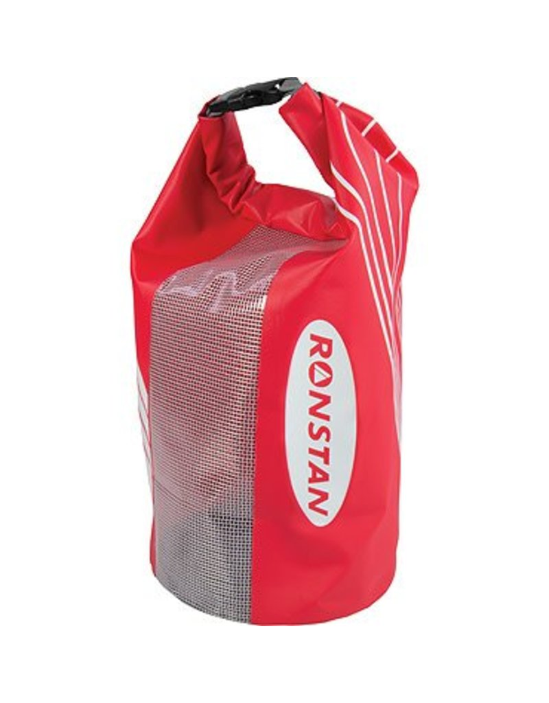 Ronstan Dry Roll-Top 10L Bag, PVC, Red & Black