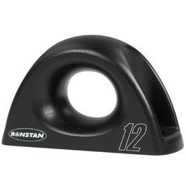 Ronstan Low Friction Fairlead, Single, Aluminum, Black, 12mm