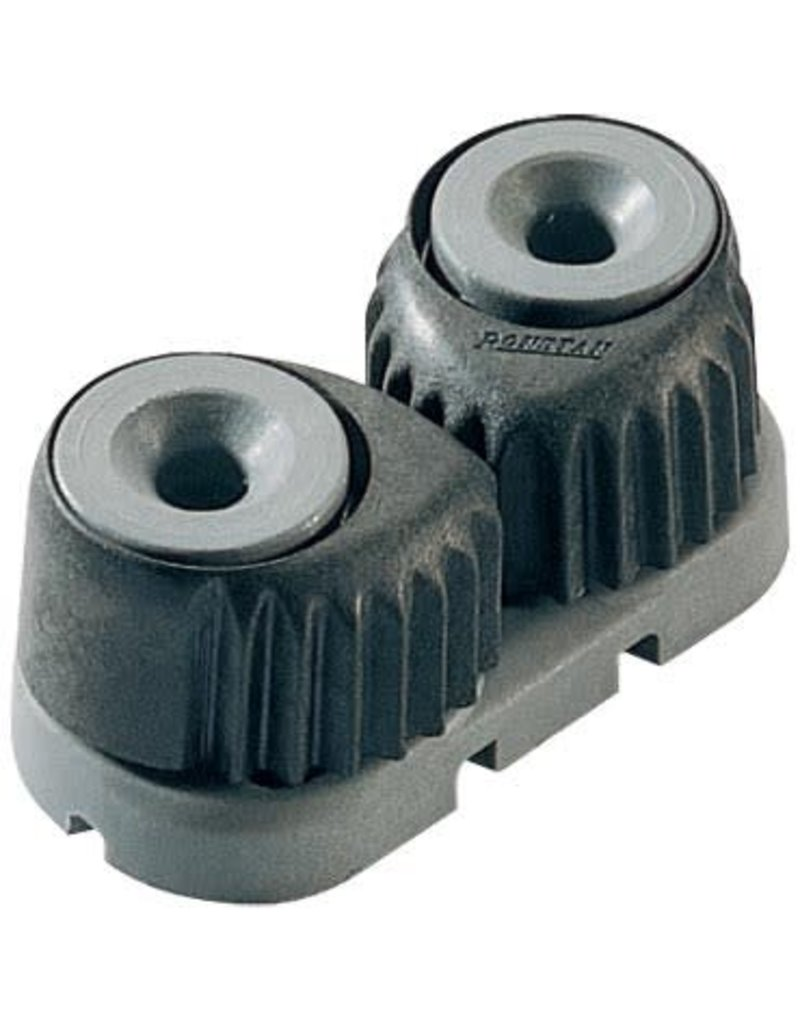Ronstan Small 'C-Cleat' Cam Cleat Grey, Grey base