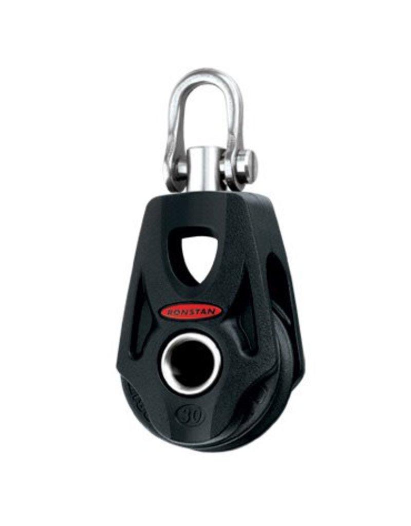 Ronstan Series 30 BB OrbitBlock,Single,SwivelShackleHead,Becket
