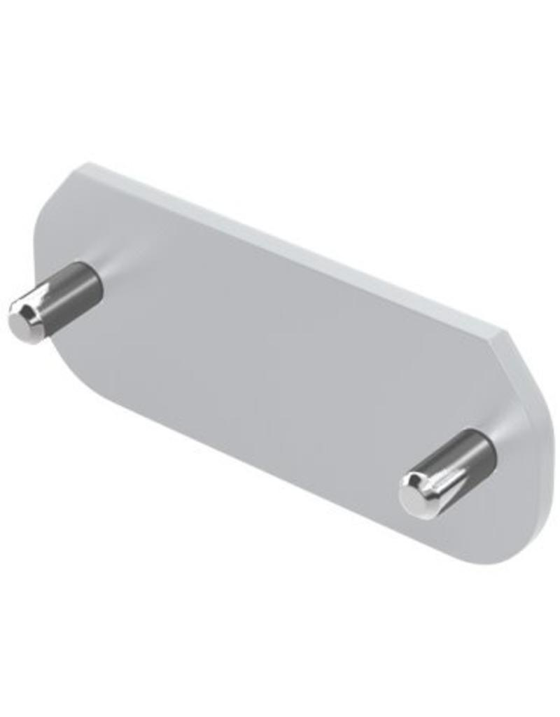 Ronstan S30 Cover Plate, Silver, incl.Screws for RC13081S