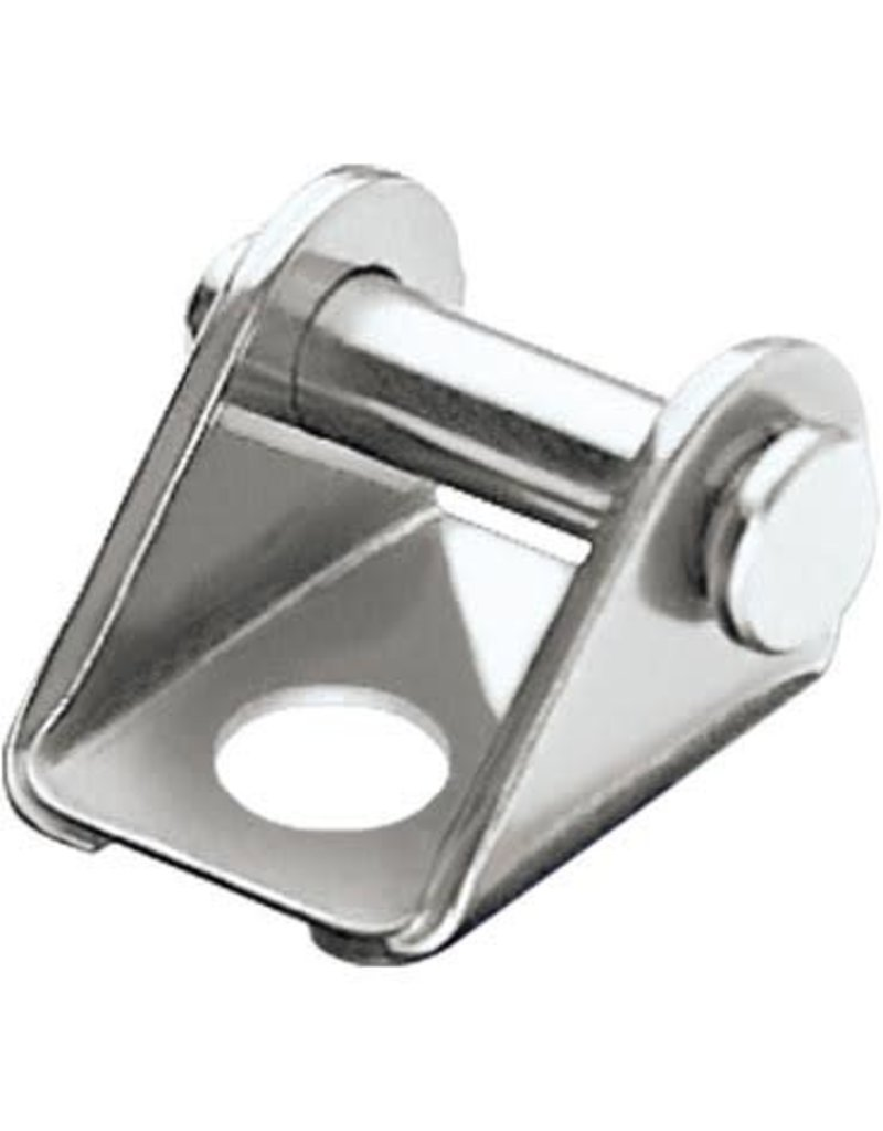 Ronstan Fork Becket, 6mm Mounting Hole, 316 Stainless Steel