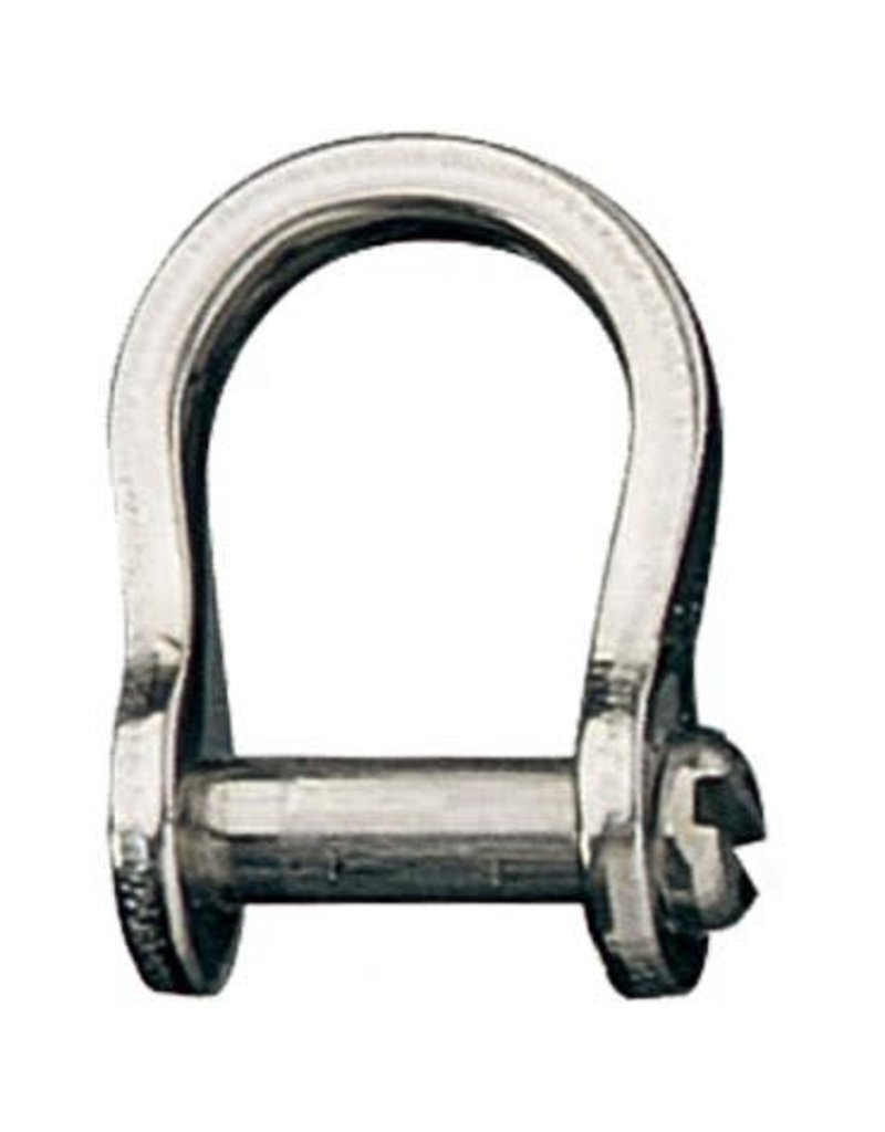 Ronstan Shackle, Bow, Slotted Pin 3mm, L:13mm, W:9mm