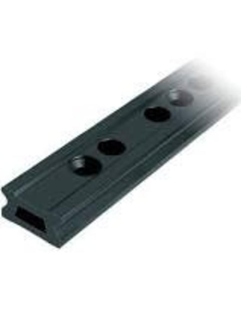 Ronstan Series 42 Track, Black, 1996 mm M10 CSK fastener holes. Pitch=100mm Stop hole pitch=50mm