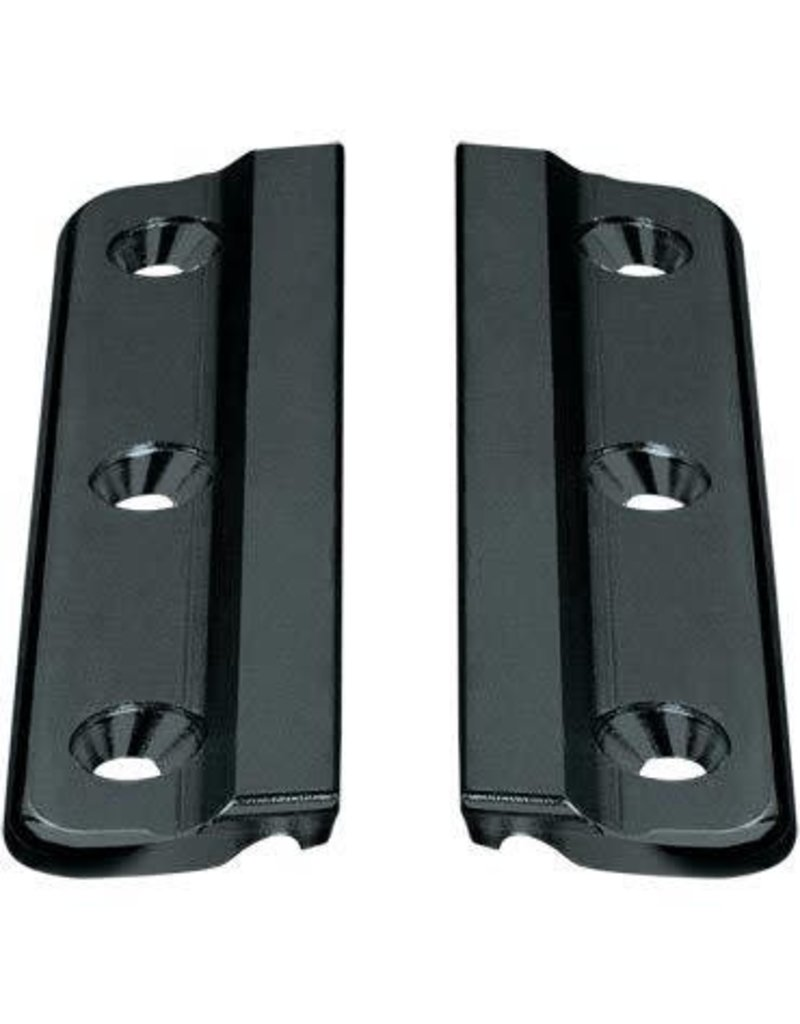 Ronstan Series 19 Luff Groove Track Fixing Plate, Silver, Pair