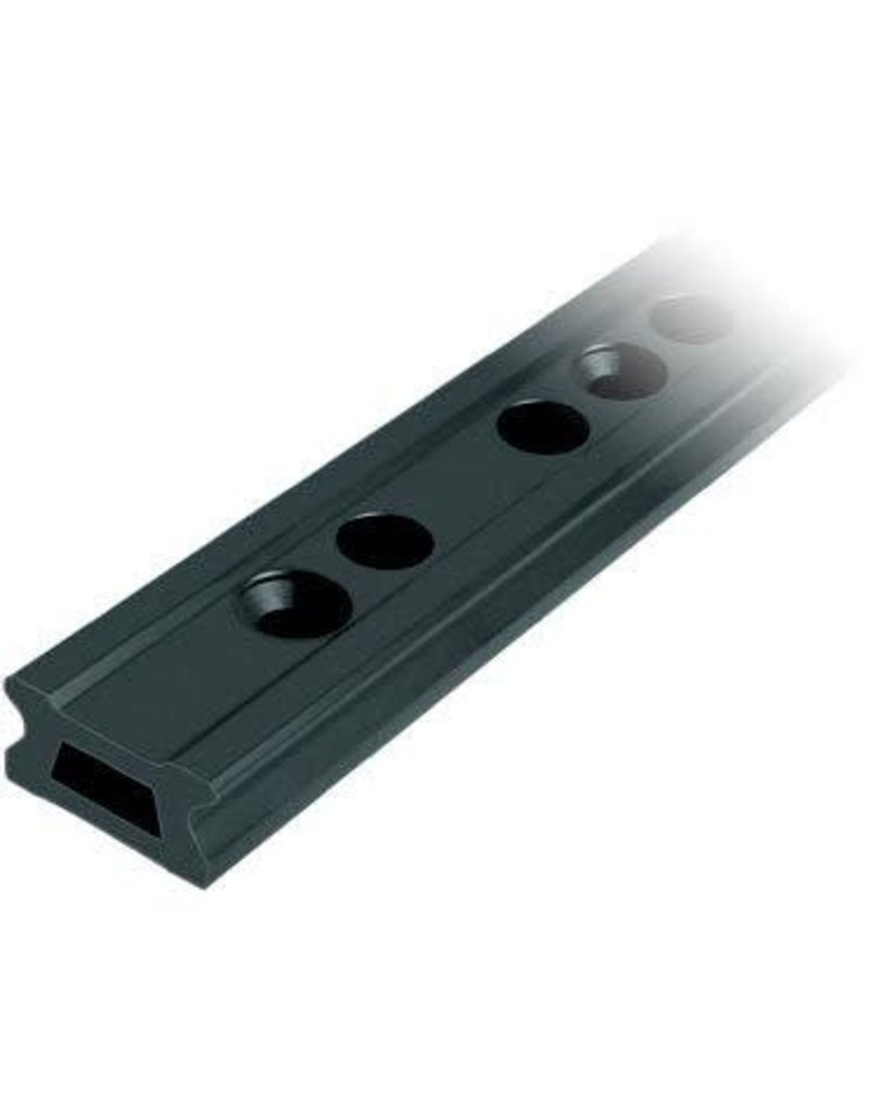 Ronstan Series 42 Track, Black, 996 mm M10 CSK fastener holes. Pitch=100mm Stop hole pitch=50mm