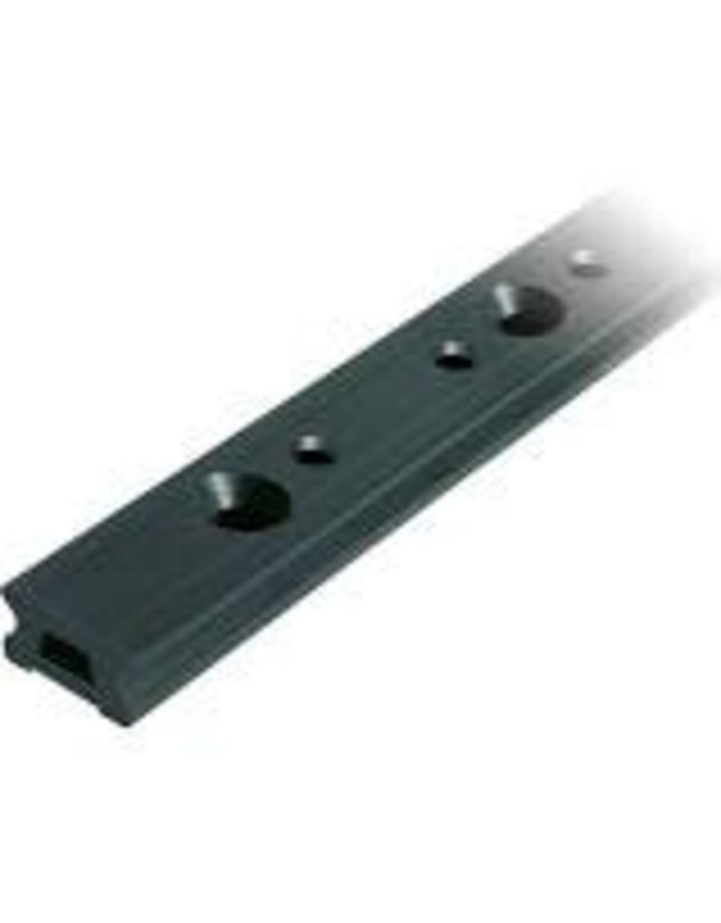 Ronstan Series 30 Track. Silver. 996 mm M8 CSK fastener holes. Pitch=100mm Stop hole pitch=50mm