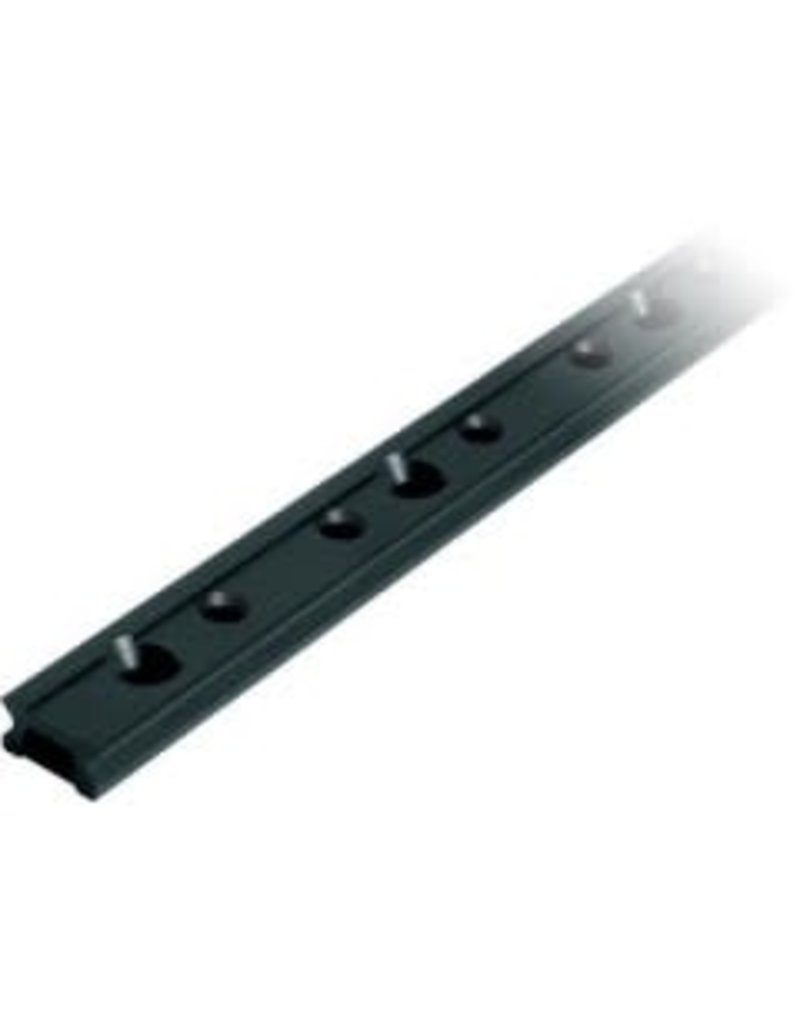 Ronstan Series 19 Track. Silver. 996 mm M5 CSK fastener holes. Pitch=100mm Stop hole pitch=50mm