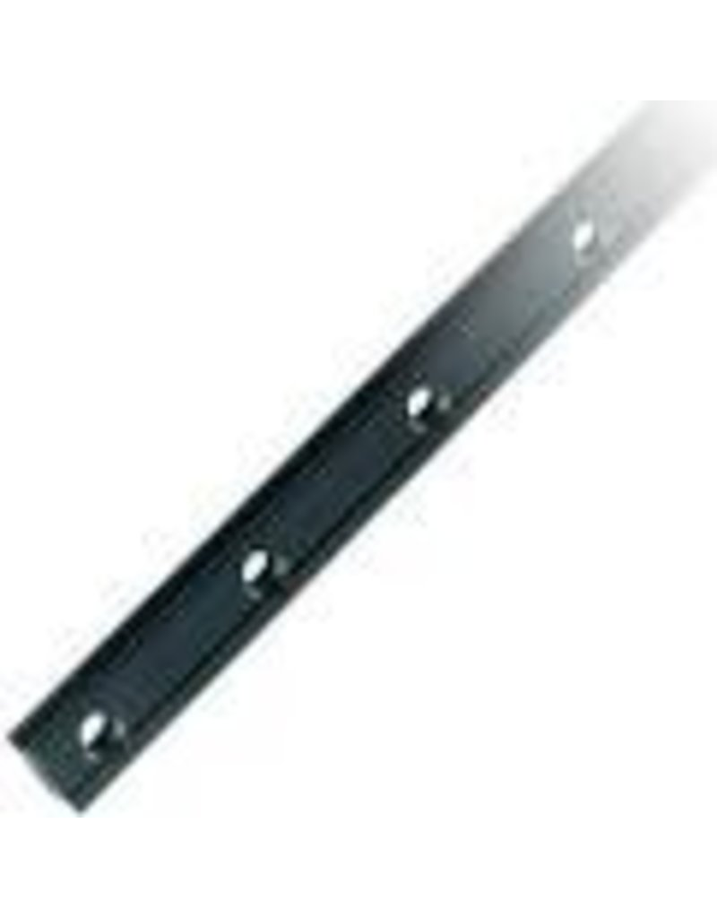 Ronstan Series 30 Luff Groove Track Gate, 400mm. Silver, M5 CSK fastener holes.  Pitch=100mm.