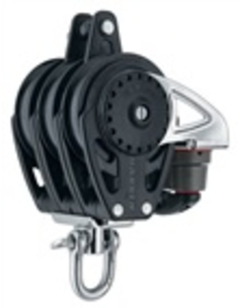 Harken 75mm Triple Carbo Block w/Cam & Becket