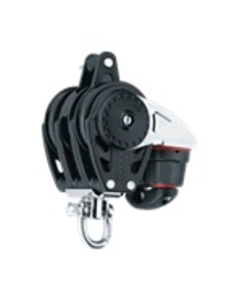 Harken 57mm Triple Carbo Ratchamatic w/Cam & Becket