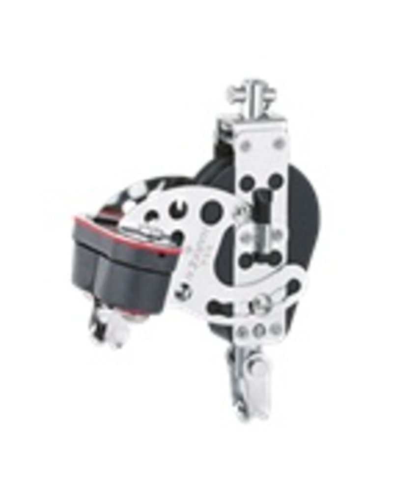 Harken 2.25 Little Hexa-Cat Base w/Adjustable Cam Cleat
