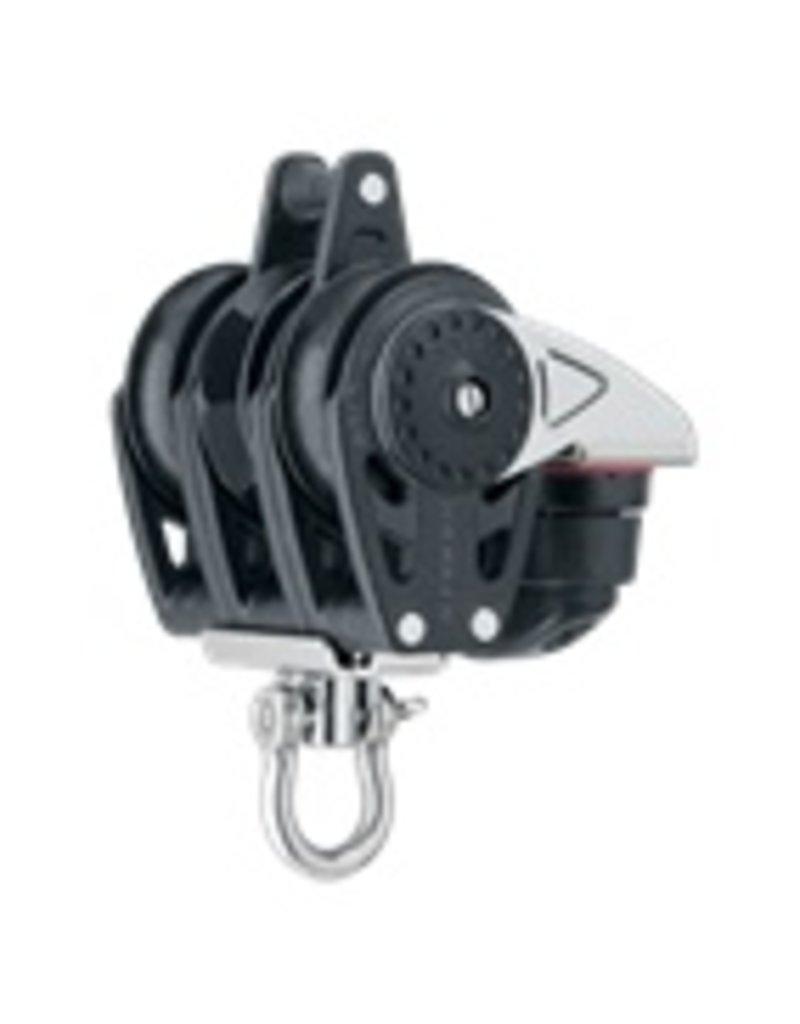 Harken 40mm Triple Carbo Ratchet w/Cam Cleat & Becket