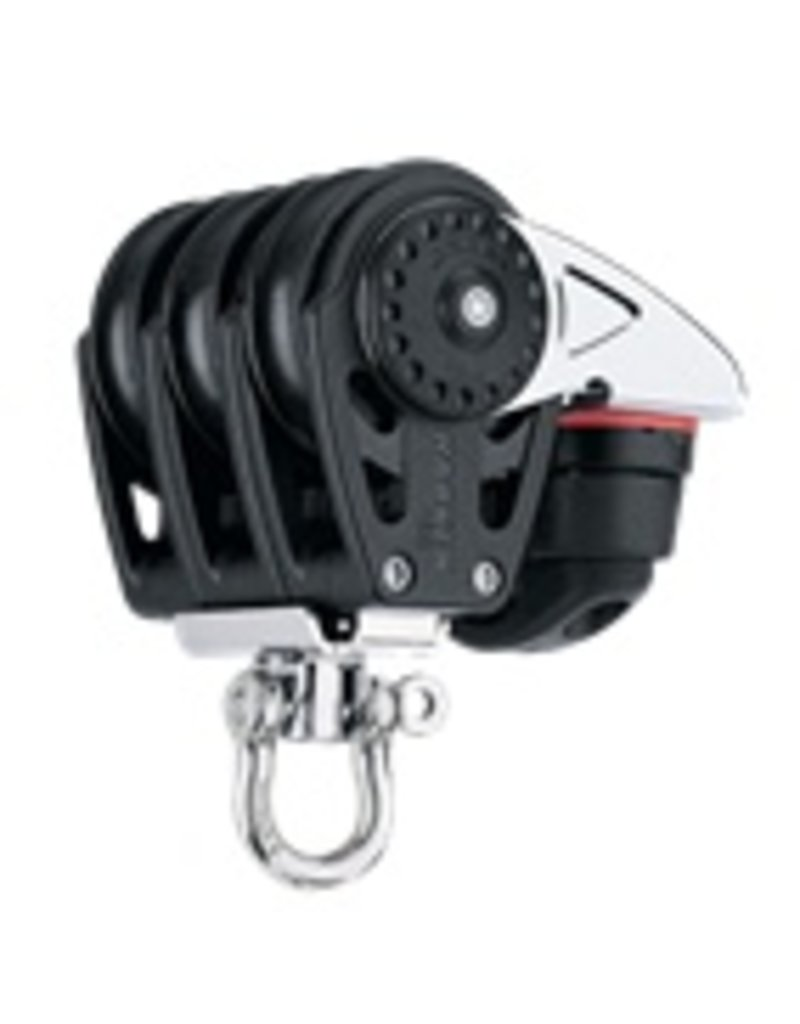 Harken 40mm Triple Carbo Block w/Cam Cleat