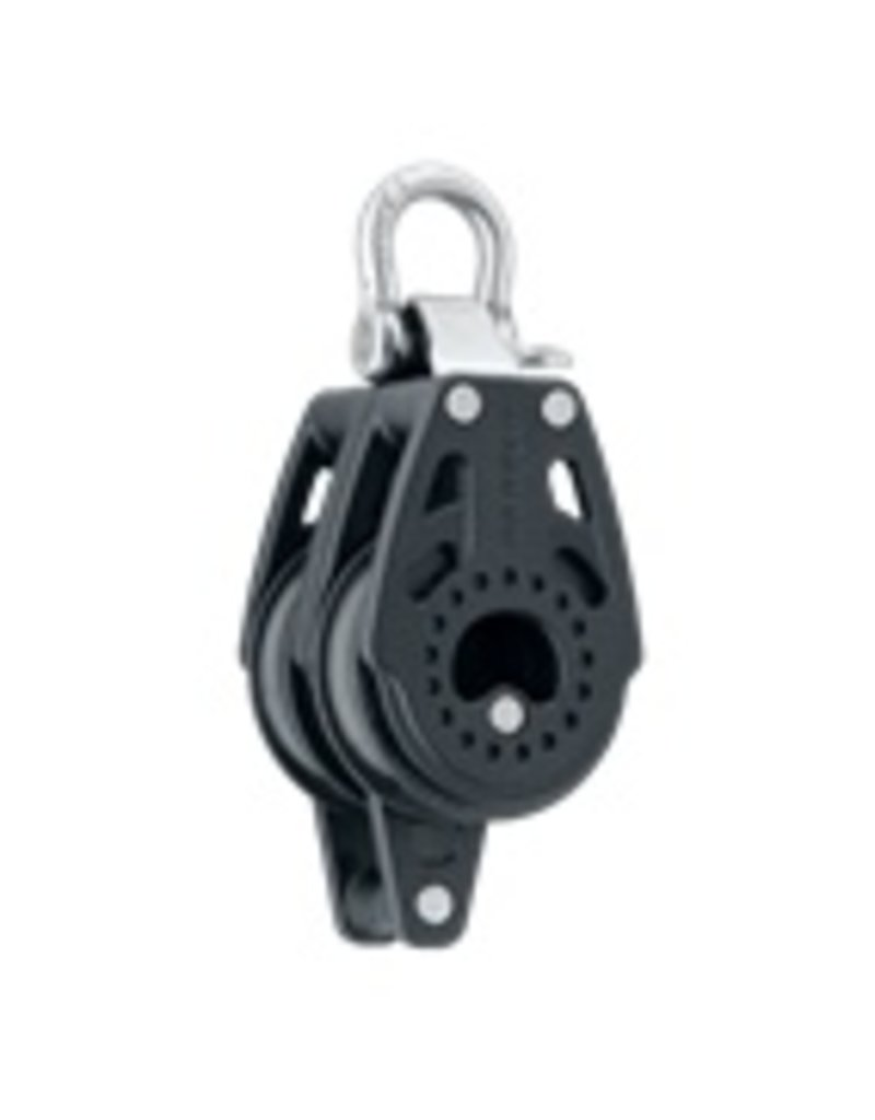Harken 40mm Carbo Fixed Double w/Becket