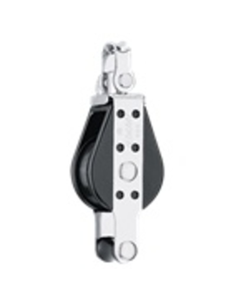 Harken Single Big Bullet Swivel Block w/Becket