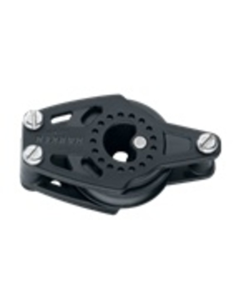 Harken 40mm Carbo Cheek Block w/Becket