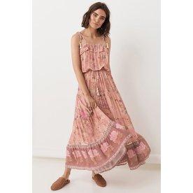 Spell Designs Spell Wild Bloom Strappy Dress