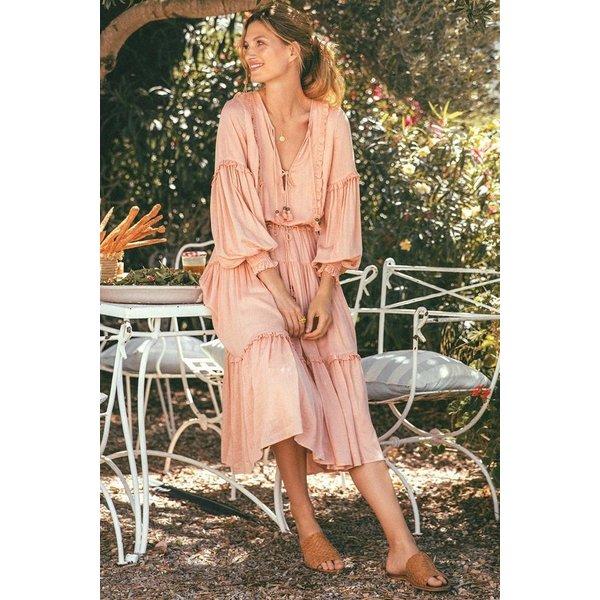 Spell Designs Spell Clementine Soiree Dress, Musk